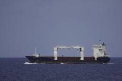 Caribische zee schepen op de rede