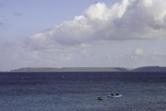 boca st Michiel zicht op Bullenbaai